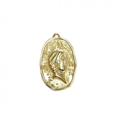 Medalha Pingente - Banho Dourado - (UNID)