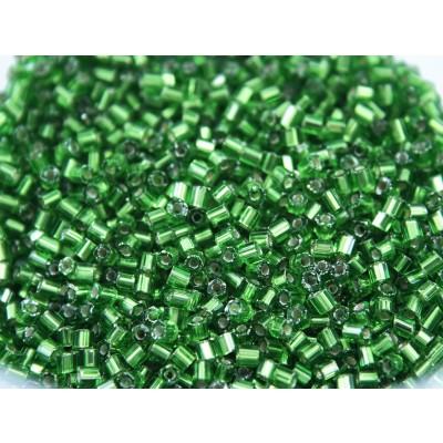 VIDRILHO - VERDE ESMERALDA - 2,0 mm - Pacote 50 Grs