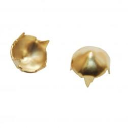 Spike Dourado 6mm - Pacote