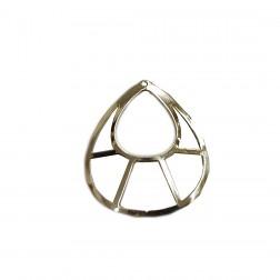 Pingente Gota - Banho Dourado - (UNID)