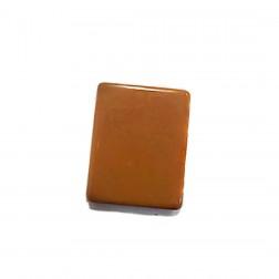 Placa Resina - Marrom - 40X50 mm