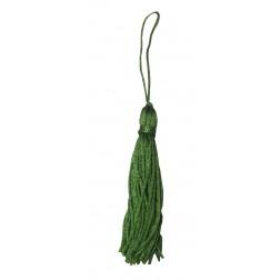 Tassel-Fio de Seda Verde