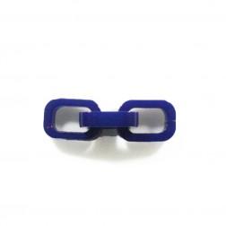Elos encaixáveis - Azul bic - unidade