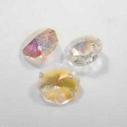 Cristal  AB Castanha de 14mm