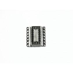 FECHO IMÃ - ESTANHO - 2,0 x 2,2 cm - 7 saídas - Unidade