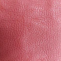 Couro Vaqueta - Vermelho - (Aproximadamente 1x1)