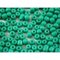 MIÇANGA - TURQUESA - 3 x 3 mm - Pacote c/ 50 grs