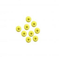 Miçanga 6/0 - Amarelo - 500 gramas