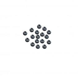 Miçanga 9/0 - Grafite - 500 gramas