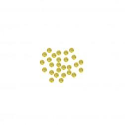 Miçanga 9/0 - Limão Transparente - 500 gramas