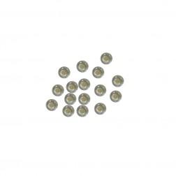 Miçanga 6/0 - Transparente - 500 gramas