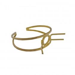Pulseira Dourada Free Com Garras - 6.0 X 5.5 CM - (UNID)