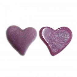 Pingente Coração - Lilas - (UNID)