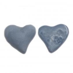 Pingente Coração - Azul - (UNID)