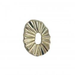 Pingente Sol - Banho Dourado - 45X50MM