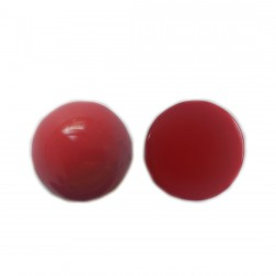 Meia Bola Resina 30X30MM - Vermelho - (UNID)