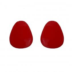 Pino Brinco Orgânico - Esmaltado Vermelho - (PAR)